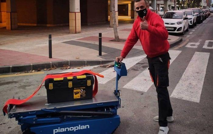 Empresa Mudanzas transporte traslado de pianos en granada